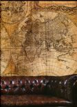 Steampunk Wall Mural Map Small G45253 By Galerie